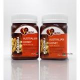 500gVcare澳洲天然。果仁蜂蜜