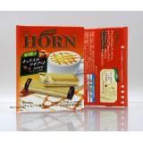 (食用日期(2020/08/31)56g明治HORN夾心威化。拖肥咖啡味