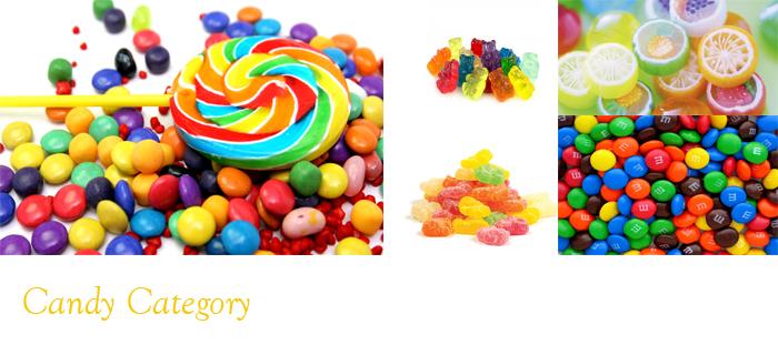 糖菓及香口珠類