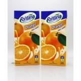 1LFontana纯果汁。鮮橙汁