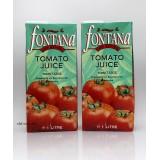 (食用期:2021-04-21)1LFontana果汁。蕃茄汁
