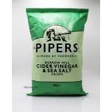 150g英國Pipers手工薯片。醋及海鹽味