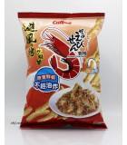 90g卡樂B蝦條。避風塘炒蝦味