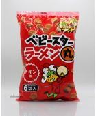 138g(6包裝)童星麵一口土豆丸。雞味