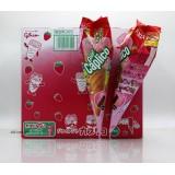 34g日本固力果夾心甜筒。草莓味