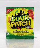 90g美國SourPatch軟糖。砂酸什果味