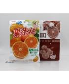 51g明治100%果汁者喱塘 - 桔 橘