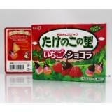 61g明治朱古力餅。竹子草莓