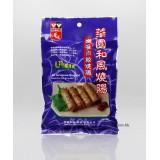 (5包裝)華園系列。3條裝咖喱肉絲燒腸