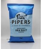 (食用期:10月31日)150g英國Pipers手工薯片。海鹽味