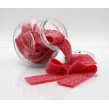1.5kg(膠盒)扁帶糖。草莓